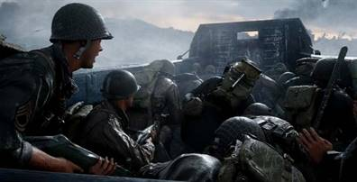 Call Of Duty: WW2 - Izkrcanje sredi peklenskih plaž v Normandiji